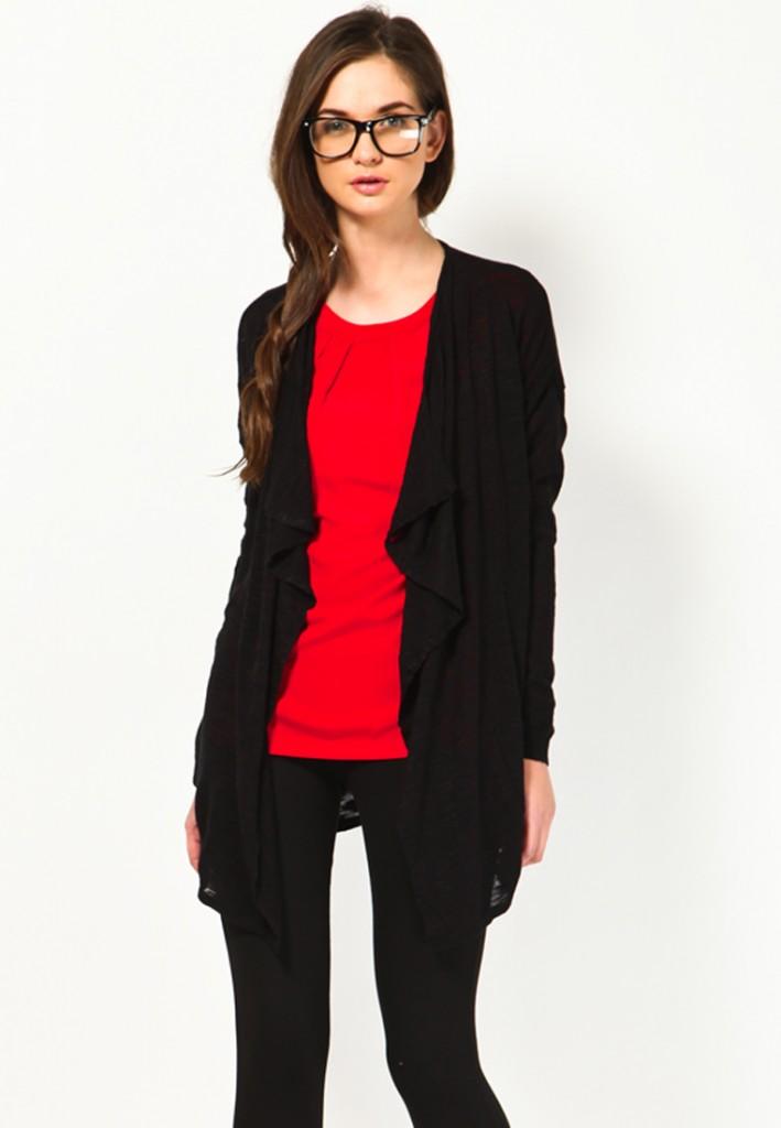 vero moda black sweater