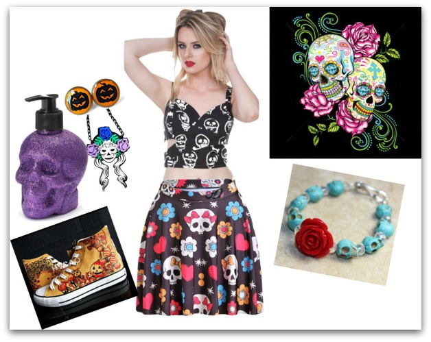 sugar skull costume ideas